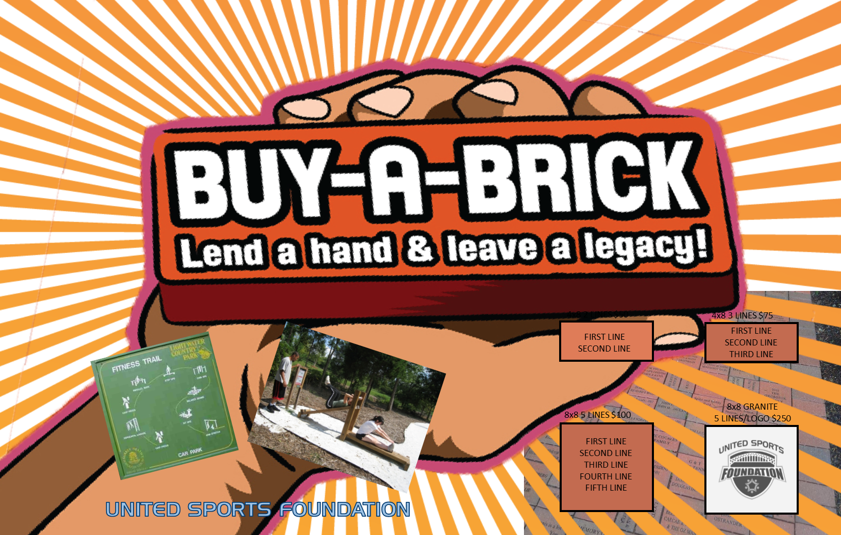 Buy a Brick Fundraiser